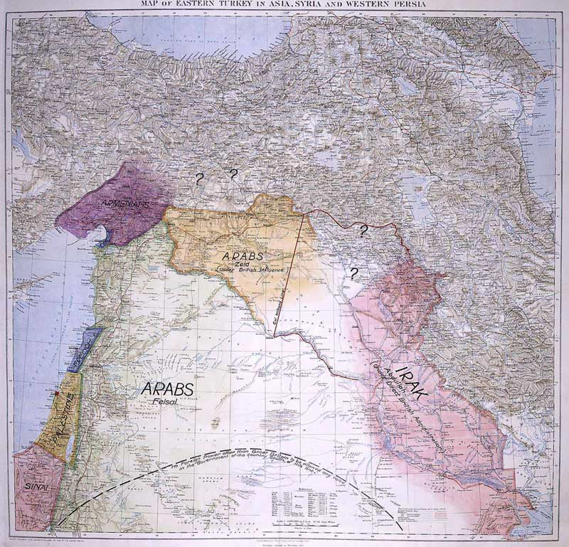 Lawrence_of_Arabia's_map,_presented_to_the_Eastern_Committee_of_the_War_Cabinet_in_November_1918