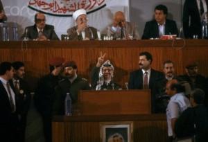 arafat declare independence