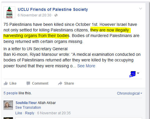 ucl blood libel