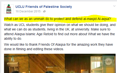 Al Aqsa fight to save