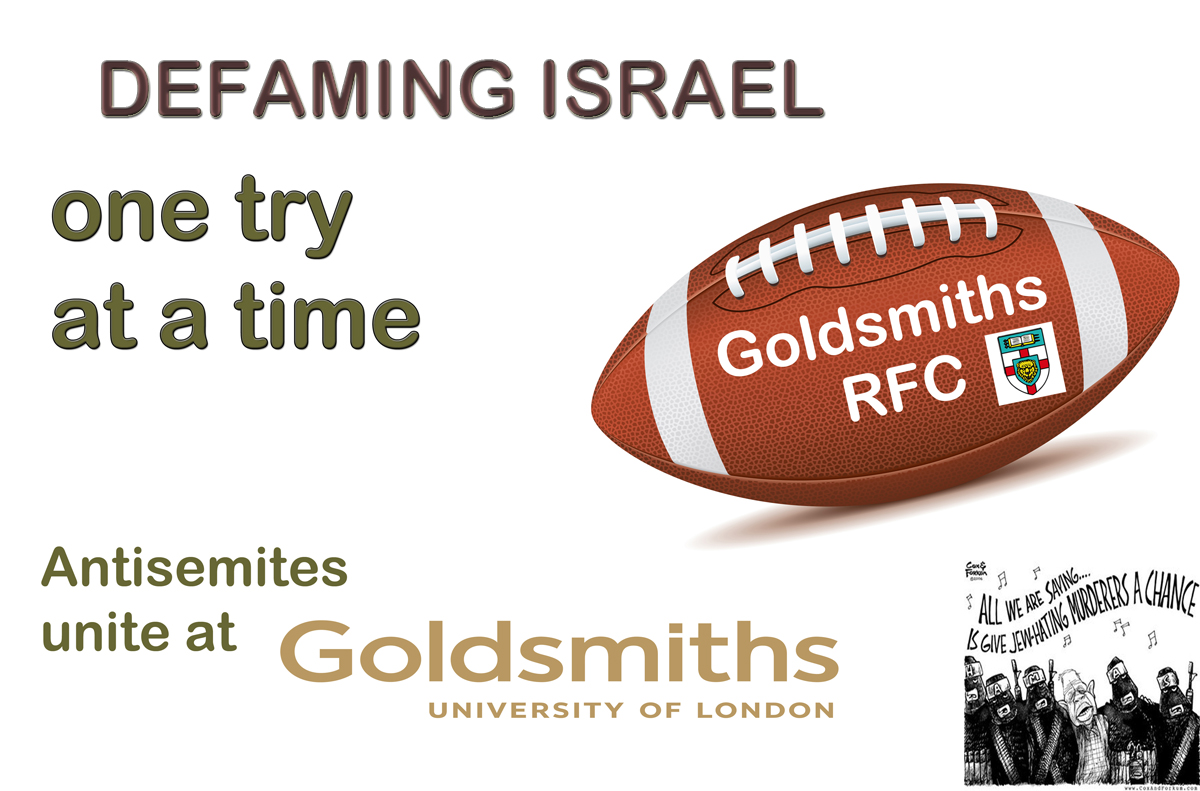 goldsmiths antisemitism