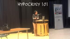 Zoabi hypocrisy