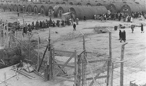 British internment camp for Jews, circa 1947 - before partition