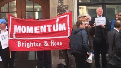 Momentum antisemitism