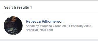Rebecca Vilkomerson