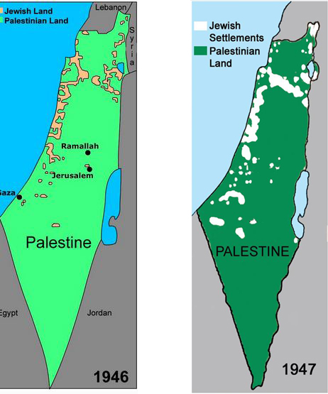 Palestine as Nazi ideology