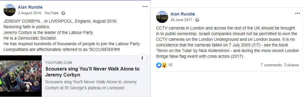 Alan rundle antisemitic
