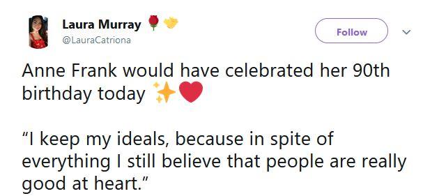 Laura Murray tweet