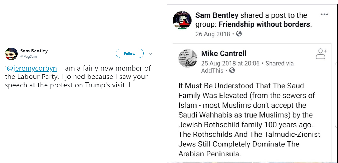 Fifty-six antisemitic conspiracies- by members of the Labour