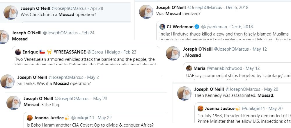 Joseph O'Neill interfaith