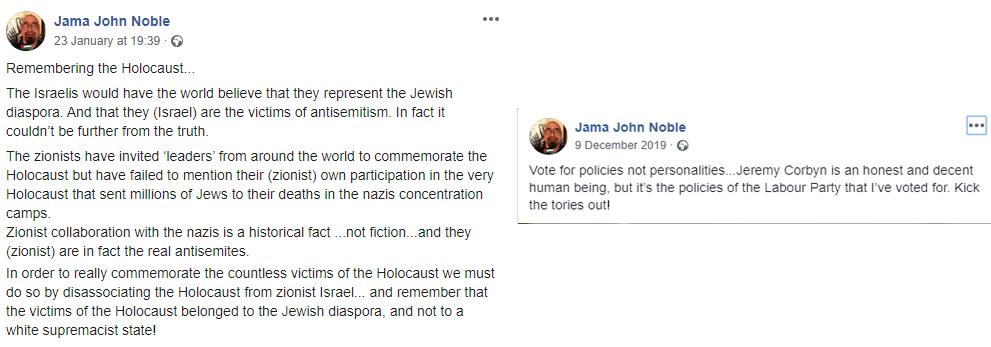 holocaust denial labour