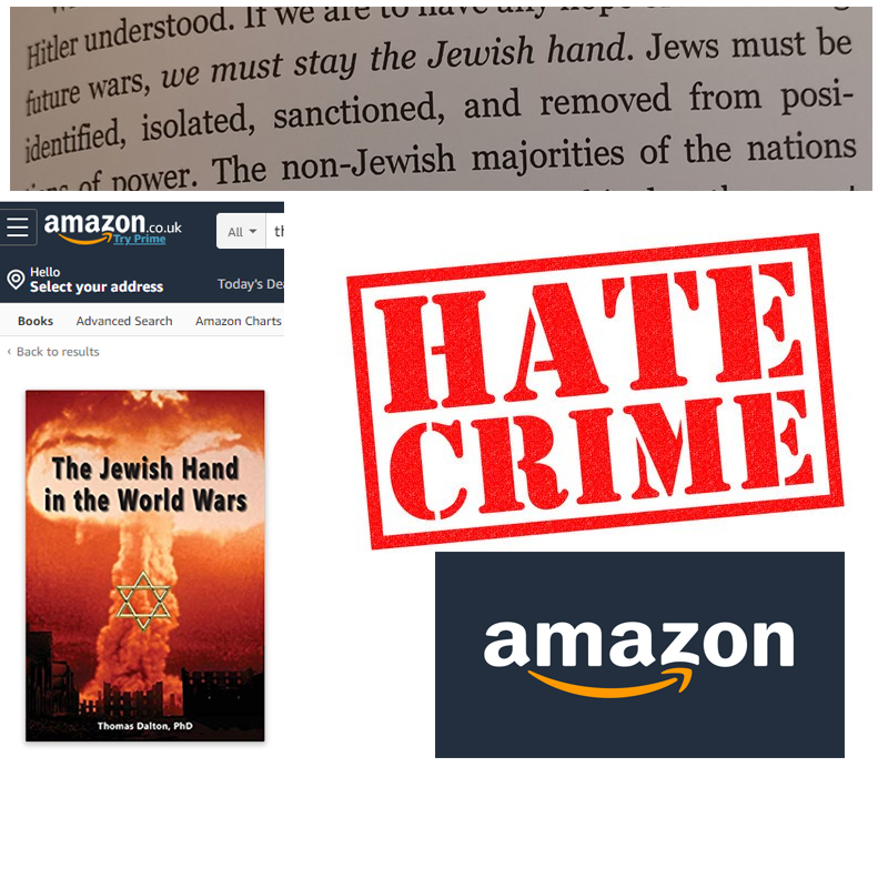 Amazon hate crime